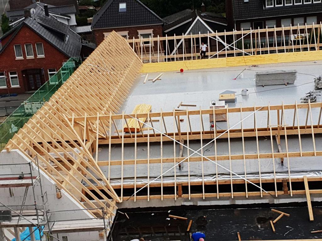 Holzbau Dwenger: Wohn-/Geschäftsbereich